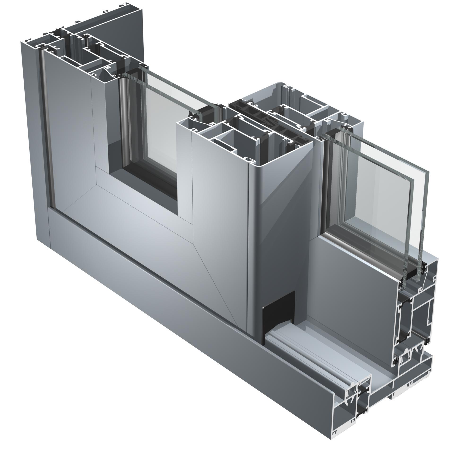 Villalta daniele aluk sc 140 tt for Serramenti in alluminio costi